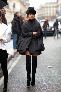 fashion-clue:  www.fashionclue.net | Fashion Tumblr, Street Wear & Outfits  Miroslava Duma street style
