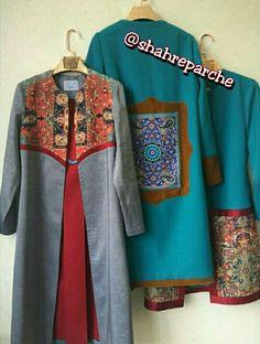 Modele Hijab, Blouse Batik, Iranian Women Fashion, Abaya Designs, Fashion Vocabulary, Dress Sewing Patterns, Fashion Sewing, Modest Outfits, Traditional Outfits