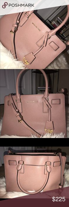 Michael Kors Dillon Top Zip East West Satchel Color: Dusty Rose Good Condition Authentic  Only used a couple of times No trades I will possibly accept other offers  Feel free to ask any questions  Thank you (: Michael Kors Bags Satchels