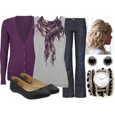 """Teacher, Teacher 35"" by qtpiekelso on Polyvore Love the watch!"