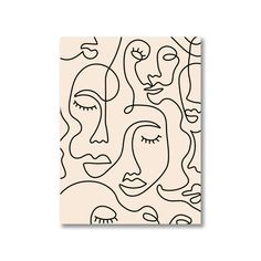 Abstract Face Art, Abstract Lines, Art Abstrait Ligne, Pintura Hippie, Face Line Drawing, Line Drawings, Art Visage, Continuous Line Drawing, Single Line Drawing