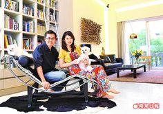 陳海茵600萬裝潢新家 1張椅子花22萬 | 蘋果日報