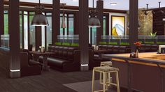Jenba-sims - Nine East Eatery & Bar restaurant.