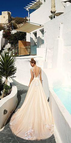 Eva Lendel 2017 Santorini Wedding Dresses Collection ❤️ See more: http://www.weddingforward.com/eva-lendel-2017-wedding-dresses-collection/ #wedding #dresses #evalendel