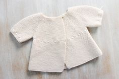 Baby Brassiere / Knitting Pattern / English Instructions / PDF