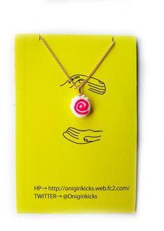 Japanese silly food!ハンドメイドです!シンプルで合わせやすいネックレスです!|ハンドメイド、手作り、手仕事品の通販・販売・購入ならCreema。