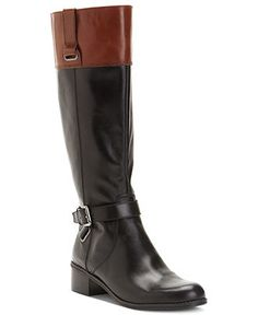 Bandolino Shoes, Caloua-W Wide Calf Boots - Extended Calf Boots - Shoes - Macy's