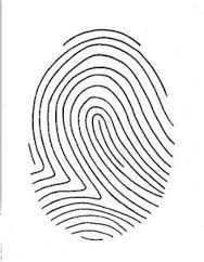 Fingerprint Poetry Writing Template Grades 4-12, Unique