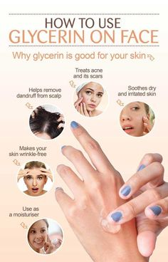 There are many ways to use glycerin on face, a miracle worker when it comes to skincare. Know how to use glycerin in your beauty applications and its benefits. Skin Tips, Skin Care Tips, Skin Secrets, Vegetable Glycerin Uses, Uses For Glycerin, Glycerin Face, Wrinkled Skin, Face Skin Care, Face Face