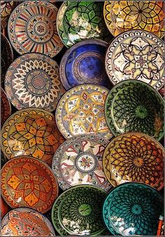Moroccan Crockery doodling-and-drawing-inspiration