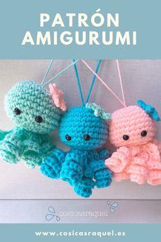 Crochet Toys, Crochet Baby, Mobiles, Patron Crochet, Cute Toys, Amigurumi Toys, Chrochet, Hama Beads, Octopus