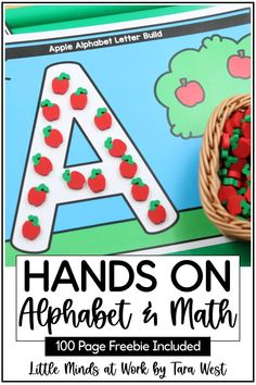 Looking for hands on activities for kids that strengthen their letter and number skills? These centers and activities are perfect for preschool and kindergarten students who are practicing a variety of math and literacy skills. Click the pin to check out all the amazing activities included in this post, and grab the huge 100 page freebie too!
