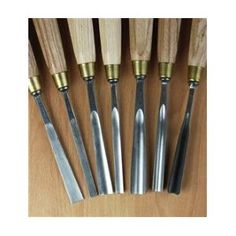 YES PLEASE  Auriou Chris Pye 7-Piece Carving Tool Set 124901