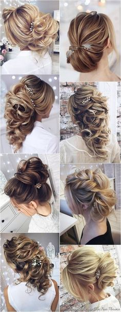 Wedding Hairstyles for Long Hair from Tonyastylist / http://www.deerpearlflowers.com/wedding-hairstyles-for-long-hair-from-tonyastylist/
