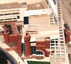 Peter Eisenman / Wexner Center, at Ohio State University, Columbus, Ohio, 1983 to 1989.