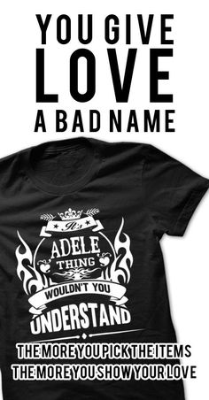 Adele Thing - Cool Name Shirt !!! If you are Adele or loves one. Then this shirt is for you. Cheers !!!
