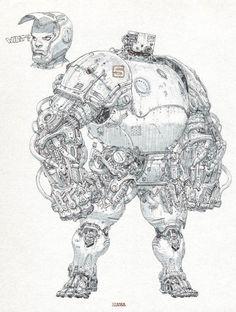 sekigan:  ArtStation - pen drawing, ETAMA QUOMO