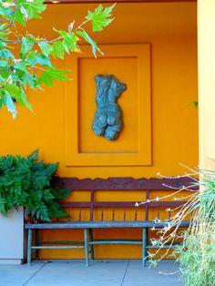 garden art or eccentric entry edifice