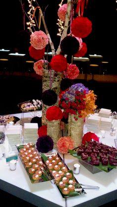 Bright & Coloful Dessert Buffet   Lisa Dupar Catering, Seattle, WA