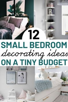 Trendy Ideas For Bedroom Design Small Room Ikea Hacks Small Room Bedroom, Trendy Bedroom, Bedroom Simple, Bedroom Layouts For Small Rooms, Small Bedroom Organization, Small Bedroom Storage, Small Bedroom Designs, Small Room Decor, Small Room Design