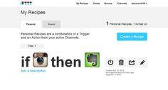 Automatiza tus redes sociales con IFTTT Vía @redessociales /// Alvaro Alexander Vergara Bedoya DBM&DDBV Digital
