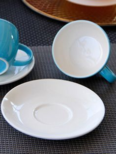 Hot Selling Ceramic Fashion Coffee Blue Cup Set & Dining - at Jollychic Blue Cups, Cupping Set, Plates, Ceramics, Mugs, Dining, Coffee, Tableware, Hot