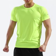 Pioneer Camp Summer Men Quick Dry Sport Running Shirts Casual Printed Clothing Fitness Mesh Short Sleeve Reliable Performance Tops & Tees T-shirts