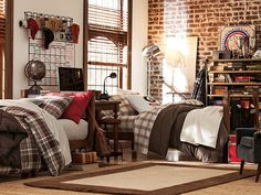 If you've ever seen a real dorm room, this is the most hilarious thing ever! (cool, but - hilarious!) pbteen.com