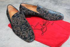 Authentic Mens unworn designer shoes Christian Louboutin   EU41.5 UK 7.5 USA 8.5
