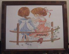 Point de Croix : Tableau (Deux filles en Ferme) Fin dans Mes Creations IMG_04641-300x237