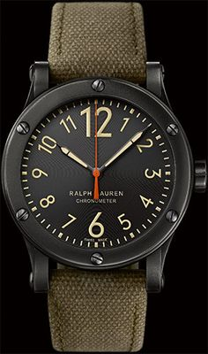 45MM Safari RL67 Chronometer - Ralph Lauren Fine Watches