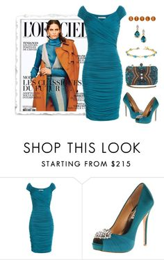 """""""Untitled #753"""" by gallant81 ❤ liked on Polyvore featuring Bailey 44, Badgley Mischka, women's clothing, women, female, woman, misses and juniors"""