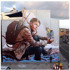 Fintan Magee - I Support Street ArtI Support Street Art