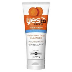 Yes To Carrots Fragrance Free Daily Cream Cleanser - 6 oz