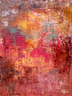 Acrylmalerei - Herbstwärme - ein Designerstück von Martina-Paulus bei DaWanda