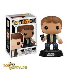 vaulted Star Wars Han Solo Pop! Vinyl Figure Bobble Head