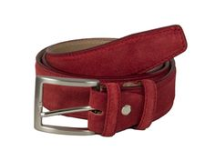 40 Colori - Trento Leather Belt - Petrol Blue / Medium or - Brown/Leather /Purple Leather Belts, Suede Leather, Leather Men, Brown Leather, Leather Jackets, Men's Belts, Mens Red Belt, Brass Buckle, Messing