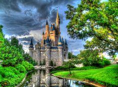 Daytime Cinderella Castle Wallpaper 018 Disney Castles Birthday 5d