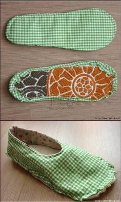 Easy 30 Sewing tutorials tips are available on our web pages. Sewing Slippers, Cute Slippers, Kids Slippers, Sewing Hacks, Sewing Tutorials, Sewing Projects, Sewing Tips, Crochet Shoes, Crochet Slippers