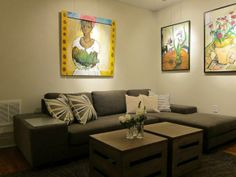Transitional Living-rooms from Bridgid Coulter on HGTV