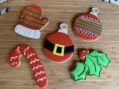 decorated sugar cookies Christmas royal icing Davids Cookies, Christmas Sugar Cookies, Royal Icing, Desserts, Food, Decor, Tailgate Desserts, Deserts, Decoration