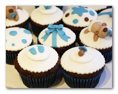 teddy bear cupcake toppers - Bing Images