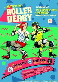 Déferlantes de Rennes VS Les Brise l'Âme - Dimanche 24 février 2013
