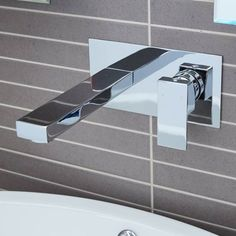 This sleek chrome basin tap will enhance the look of any bathroom allowing for a modern finish. The stylish design complimented by the defined edges ensures an impressive focus piece complimenting any basin. Operating from 0.2 bar.