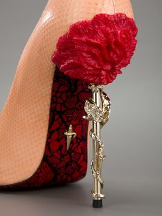 "Cesare Paciotti Peep Toe Pump - Galante - farfetch.com at KG ""The Art of Shoes"""