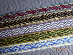 More inkle bands Apr 2012 by stitchwort64, via Flickr