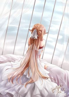 Find images and videos about anime, sword art online and asuna on We Heart It - the app to get lost in what you love. Manga Anime, Film Anime, Fanarts Anime, Manga Art, Anime Characters, Schwertkunst Online, Online Anime, Sword Art Online Asuna, Awesome Anime