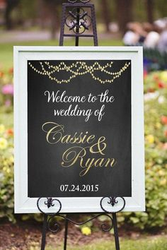 Printable welcome wedding sign DIY Printable Welcome to the wedding sign custom printable Chalkboard Golden glitter sign Wedding signs Chic Wedding, Trendy Wedding, Wedding Signs, Perfect Wedding, Wedding Events, Rustic Wedding, Dream Wedding, Wedding Day, Wedding Rehearsal