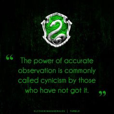 "Slytherin House Rules. My friend tried arguing with me about the fact that I'm Slytherin, saying that I ""chose"" it because it's one of the main two houses, so to prove her wrong I took that quiz that J.K. Rowling made. She saw that it placed me in Slytherin so she backed off lol"