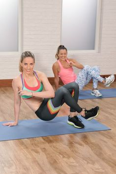 Burpee, squat, and plank your way to a bikini bod with Astrid Swan of Barry's Bootcamp. You can do this full-body circuit, made up of entirely bodyweight moves, just about anywhere.
